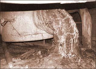 Топливо из разрушенного реактора ЧАЭС